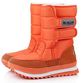 5b8e7ee6b21 Γυναικεία Σουέτ / Πανί Φθινόπωρο / Χειμώνας Μπότες Χιονιού / Μποτίνι Μπότες  Παπούτσια Σκι Μποτίνια Ροζ / Κρασί / Χακί