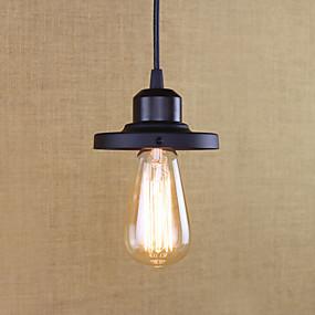 billige Hengelamper-Mini Anheng Lys Omgivelseslys Malte Finishes Metall Mini Stil, Pære Inkludert, designere Pære Inkludert / E26 / E27