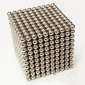 economico Giochi e Hobby-1000 pcs 3mm Magneti giocattolo Palline magnetiche Costruzioni Magneti ultra resistenti Magneti al neodimio Stress e ansia di soccorso Giocattoli per ufficio Fai da te Per bambini / Per adulto Da