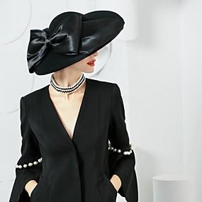 povoljno Kentucky Derby Hat-vunena svilena kapa headpiece vjenčanica elegantan klasični ženski stil