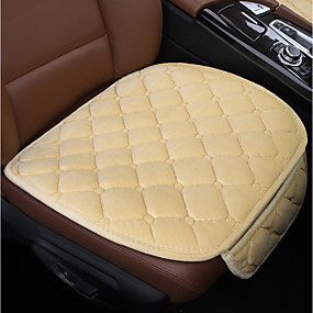 cheap Super Clearance-Car Seat Cushions Seat Cushions Black Red Beige Gray Coffee Polyester Common for universal