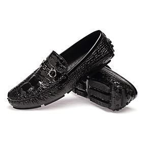 Férfi cipő Bőr Ősz   Tél Kényelmes   Újdonság   Búvárcipő Papucsok    Balerinacipők Gyalogló Fekete   Ezüst   Sötétkék c4efa4996f