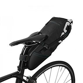 cheap Bike Trunk Bags-ROSWHEEL Bike Bag Bike Trunk Bags Rain-Proof Waterproof Zipper Fitness Bicycle Bag Polyester/Cotton Nylon Waterproof Fabric Cycle Bag