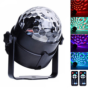 cheap Musical Instruments-U'King LED Stage Light / Spot Light Sound-Activated Remote Control Music-Activated 6 for For Home Club Wedding Stage Party Outdoor