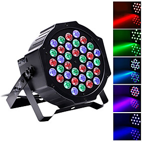 cheap Musical Instruments-U'King LED Stage Light / Spot Light LED Par Lights DMX 512 Master-Slave Sound-Activated Auto 36 for Club Wedding Stage Party Professional