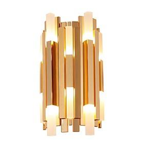 billige Krystall Vegglys-QIHengZhaoMing Moderne / Nutidig Vegglamper Stue / Leserom / Kontor Metall Vegglampe IP20 110-120V / 220-240V 5 W / G4