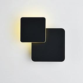 billige Vegglamper med LED-CONTRACTED LED Matt LED / Moderne / Nutidig Vegglamper Stue / Soverom / Leserom / Kontor Metall Vegglampe 110-120V / 220-240V 5W