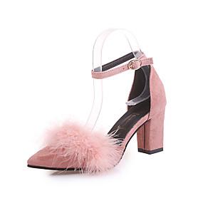c8cb2da1b Women s PU(Polyurethane) Winter Comfort Slippers   Flip-Flops Open Toe  Feather Green   Pink   Khaki