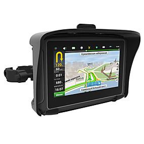 Недорогие GPS-трекеры-Горячая 4.3 водонепроницаемый ipx7 мотоцикл GPS-навигатор с GPS-навигатором с FM-Bluetooth 8G Flash Prolech Автомобильный GPS (обновить карту связаться со службой поддержки)