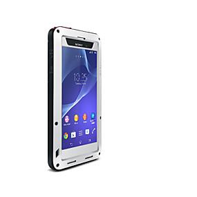 levne Pouzdra telefonu-Carcasă Pro Sony Xperia Z2 Voda / Dirt / Otřesuvzdorný Celý kryt Pevná barva Pevné Kov pro Sony Xperia Z2