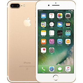 billige Fornyet iPhone-Apple iPhone 7 plus 5.5 tommers 128GB 4G smarttelefon - oppusset(Gull) / 1920*1080