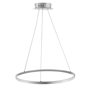 cheap Pendant Lights-Ecolight™ 1-Light Circular Pendant Light Ambient Light  Acrylic LED 110-120V / 220-240V with Warm White / White / Dimmable With Remote Control LED Light Source Included