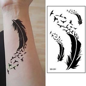 e38a8755d 10 pcs Tattoo Stickers Temporary Tattoos Cartoon Series Body Arts Brachium