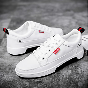 156d545e9ef6 Men s Comfort Shoes PU(Polyurethane) Summer Sneakers White   Black   Outdoor