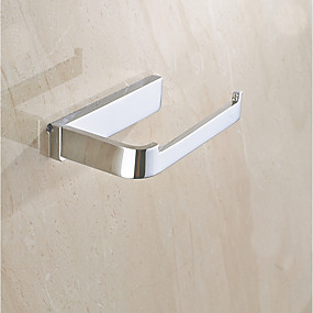 cheap Toilet Paper Holders-Toilet Paper Holder Multifunction Contemporary Brass 1pc - Bathroom Wall Mounted
