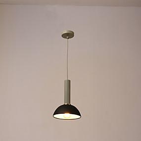 abordables Plafonniers-Lampe suspendue Lumière dirigée vers le bas Finitions Peintes Métal Mat 220V Ampoule non incluse