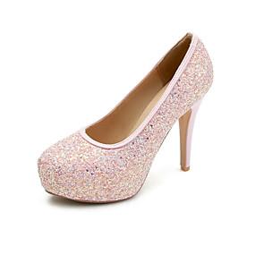 316f55dfac1e Women's Heels Stiletto Heel Round Toe Synthetics Basic Pump Spring & Summer  Black / Light Pink / Light Green / Wedding / Party & Evening / Party &  Evening