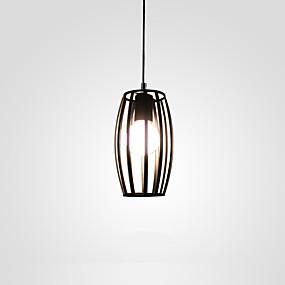 abordables Plafonniers-Lampe suspendue Lumière d'ambiance Finitions Peintes Métal 110-120V / 220-240V Ampoule non incluse / E26 / E27