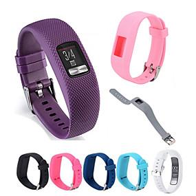 hesapli Smartwatch Bantları-Watch Band için Vivofit 3 Garmin Spor Bantları Silikon Bilek Askısı