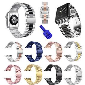 povoljno Oprema za pametni sat-Pogledajte Band za Apple Watch Series 4/3/2/1 Apple Sportski remen Nehrđajući čelik Traka za ruku