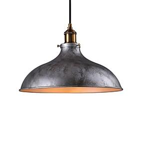 abordables Plafonniers-bol Lampe suspendue Lumière dirigée vers le bas Finitions Peintes Métal Style mini 110-120V / 220-240V