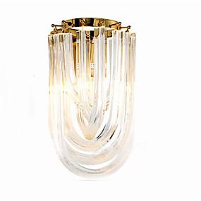 billige Vegglamper-QIHengZhaoMing Krystall LED / Moderne / Nutidig Vegglamper butikker / cafeer / Kontor Metall Vegglampe 110-120V / 220-240V 10 W