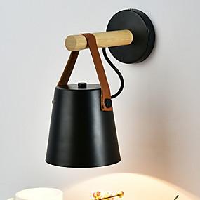 halpa Seinälampetit-Moderni / nykyaikainen Seinävalaisimet Olohuone Puu / bambu Wall Light 220-240V 40 W