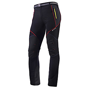 cheap Sports & Outdoor Super Clearance-Nuckily Men's Cycling Pants Bike Pants / Trousers Tights Bottoms Waterproof Breathable Quick Dry Sports Polyester Black Mountain Bike MTB Road Bike Cycling Clothing Apparel Advanced Relaxed Fit Bike