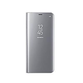 ieftine Carcase Mobil-Maska Pentru Samsung Galaxy S9 / S8 Placare / Oglindă / Întoarce Carcasă Telefon Mată Greu Silicon pentru S9 / S9 Plus / S8 Plus