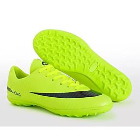voordelige Wijdere maten schoenen-Heren Comfort schoenen PU Lente & Herfst Sportschoenen Voetbal Zwart / Oranje / Geel / Sportief