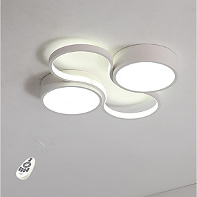 cheap Ceiling Lights-Novelty Flush Mount Lights Ambient Light Metal Eye Protection, Dimmable 110-120V / 220-240V Dimmable With Remote Control