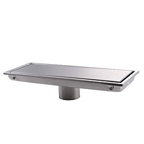 cheap Bath Fixtures-Drain New Design / Creative Modern Stainless Steel / Iron 1pc drain Floor Mounted