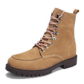 5850e799e6a1 Herre Fashion Boots Læder Vinter Vintage   Afslappet Støvler Hold Varm  Støvletter Sort   Brun