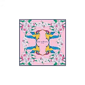 voordelige Huivi-Zijde Sjaal / Lint Dames Dagelijks Roze