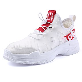 povoljno Glomazne tenisice-Muškarci Udobne cipele Mrežica Proljeće ljeto Sportski Sneakers Prozračnost Obala / Crn