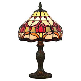 billige Tiffany Lamper-Tiffany Ambient Lamper / Dekorativ Bordlampe Til Leserom / Kontor / butikker / cafeer Harpiks 110-120V / 220-240V
