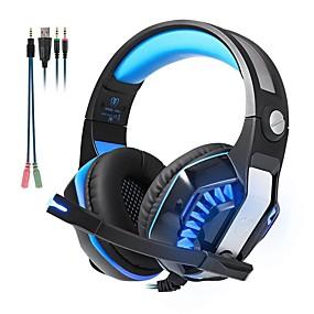 voordelige Gaming-KOTION EACH GM-2 Gaming Headset Bekabeld Gaming met microfoon
