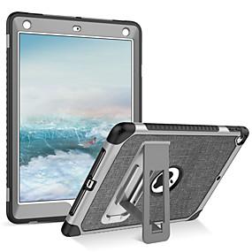 voordelige Brand Salon-BENTOBEN hoesje Voor Apple iPad (2018) / iPad (2017) Schokbestendig / met standaard Volledig hoesje Effen Zacht PU-nahka / TPU / PC voor iPad (2018) / iPad Air 2 / iPad (2017)