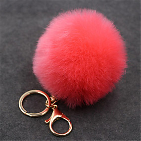 cheap Bag Parts & Accessories-Microfibre Bag Charm Women's Daily Red / Pink / Red Wine