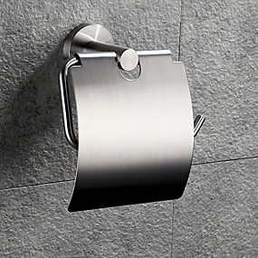 Toalettpappershållare Ny Design   Häftig Nutida Rostfritt stål   järn 1st  Väggmonterad 9673177eabe61