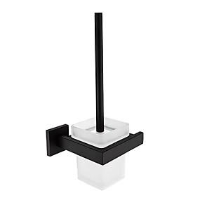 billige Tilbehørssett til badet-Tilbehørssett til badeværelset / Toalettrullholder / Toalettbørsteholder Nytt Design / Kul / Multifunktion Moderne / Antikk Rustfritt stål 1pc - Baderom Vægmonteret