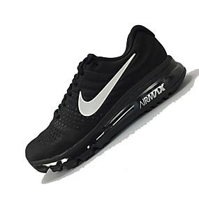 hesapli Erkek Atletik Ayakkabıları-Erkek Ayakkabı Örümcek Ağı İlkbahar & Kış / Bahar / Yaz Sportif / Günlük Atletik Ayakkabılar Koşu / Fitnes Çalışması / Yürüyüş Atletik / Günlük / Dış mekan için Siyah / Nefes Alabilir / Sonbahar
