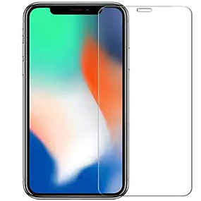 voordelige iPhone screenprotectors-Screenprotector voor Apple iPhone XS / iPhone XR / iPhone XS Max Gehard Glas 1 stuks Voorkant screenprotector High-Definition (HD) / 9H-hardheid / 2.5D gebogen rand