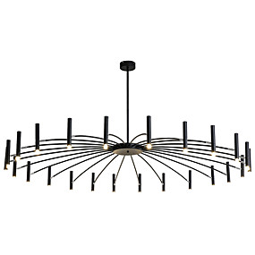 povoljno Lusteri-ZHISHU Geometrijski / Noviteti Lusteri Ambient Light Slikano završi Metal Kreativan, New Design 110-120V / 220-240V Meleg fehér / Bijela