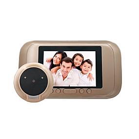 billige Dørtelefonssystem med video-Factory OEM Trådløs 2.4Ghz 3.5 tommers Håndfri 1280*720 pixel En Til En Video Dørtelefon
