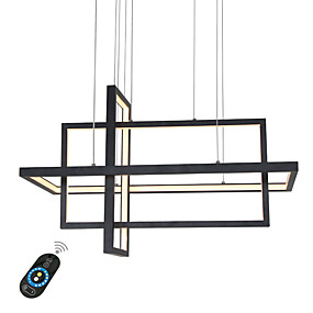 ieftine Cumpără după Cameră-UMEI™ Candelabre Lumini Ambientale Pictate finisaje Aluminiu 110-120V / 220-240V Alb / Dimmable cu telecomandă / Wi-Fi Smart / FCC