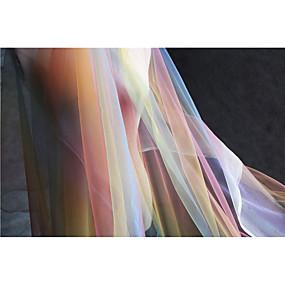 저렴한 공예&바느질-튤 솔리드 패턴 140 cm 폭 구조 용 퀼트 - 패브릭 팔린 ~에 의해 미터
