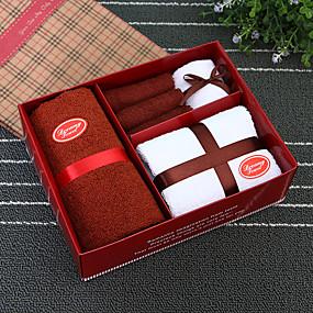 abordables Cadeaux Utiles pour Invités-Usage quotidien 100% Coton Serviette Créatif - 4 pcs