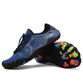 baratos Sapatos Esportivos Masculinos-Homens / Unisexo Sapatos Confortáveis Tecido elástico Verão / Primavera Verão Temática Asiática Tênis Água / Tênis Anfíbio Respirável Preto / Azul / Cinzento