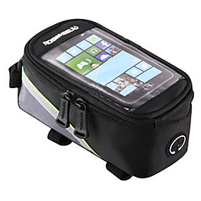 cheap Bike Frame Bags-ROSWHEEL Cell Phone Bag Bike Frame Bag Top Tube 4.2/5.5/6.2 inch Touch Screen Reflective Waterproof Cycling for Samsung Galaxy S6 iPhone 5C iPhone 4/4S Red Green Blue Cycling / Bike / iPhone X